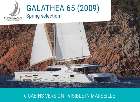 Galathea 65 2009 6 cabins