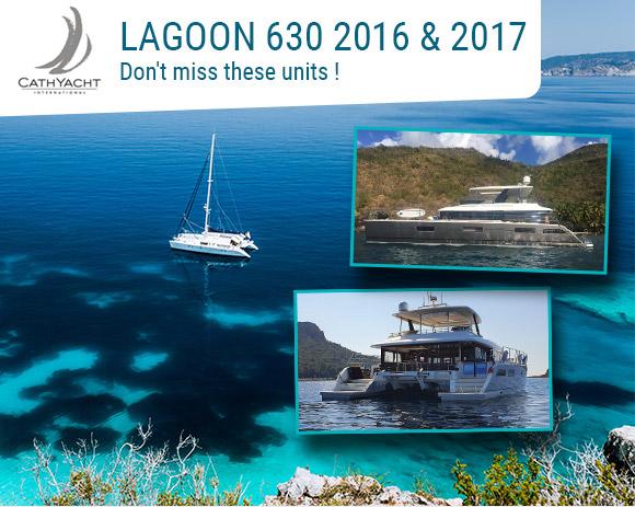 Motor yacht Lagoon 630 2016 - 2017