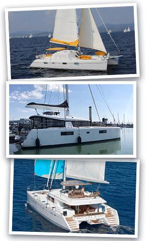 Catamarans d'occasion de 50-60' et plus
