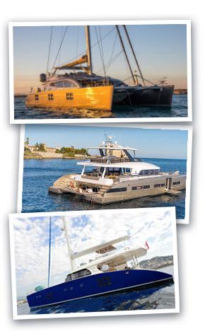 Catamarans d'occasion de 70' et plus