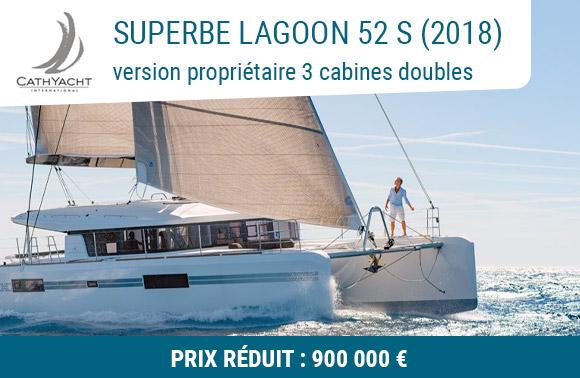 Lagoon 52 S 2 cabines invités